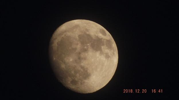 2018/12/20(木)のお月様