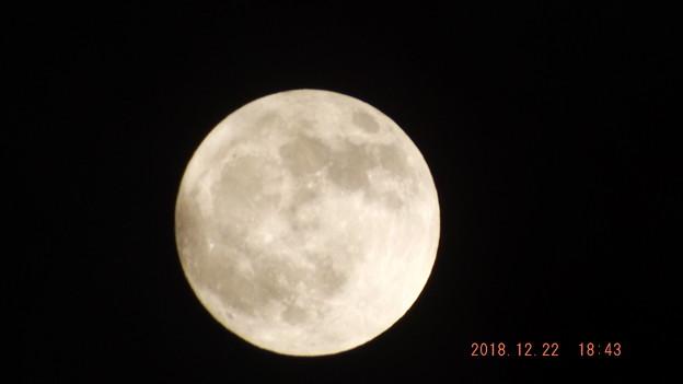 2018/12/22(土)のお月様