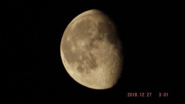 2018/12/27(木)のお月様