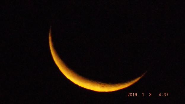 2019/01/03(木)のお月様