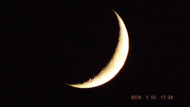 2019/01/10(木)のお月様