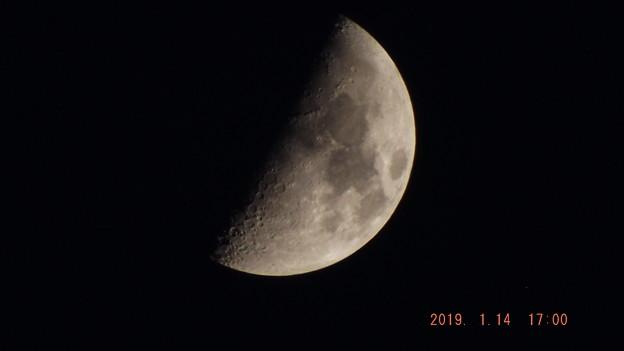 2019/01/14(月・祝)のお月様