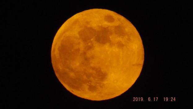 2019/06/17(月)のお月様・満月