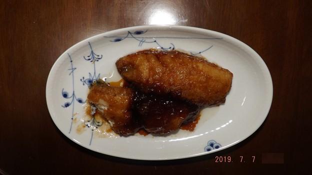 2019/07/07(日)・トビウオの蒲焼