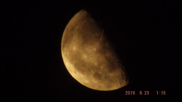 2019/08/23(金)のお月様