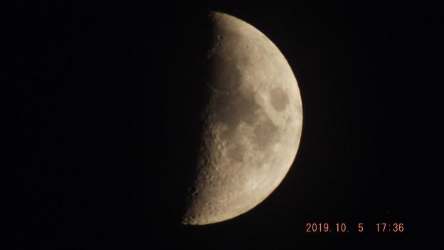 2019/10/05(土)のお月様