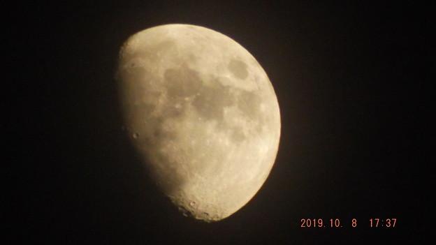 2019/10/08(火)のお月様