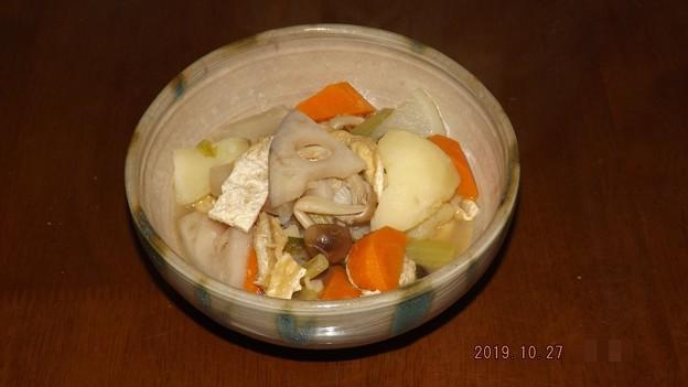 2019/10/27(日)・野菜の煮物