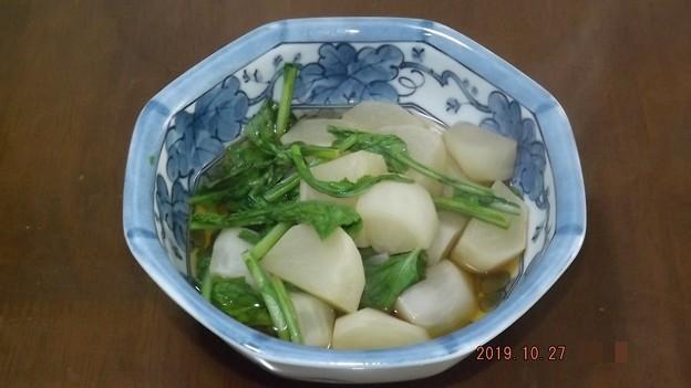 2019/10/27(日)・カブの煮物