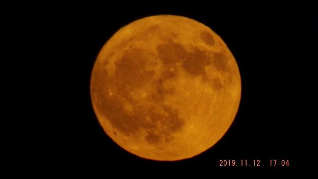 2019/11/12(火)のお月様・満月