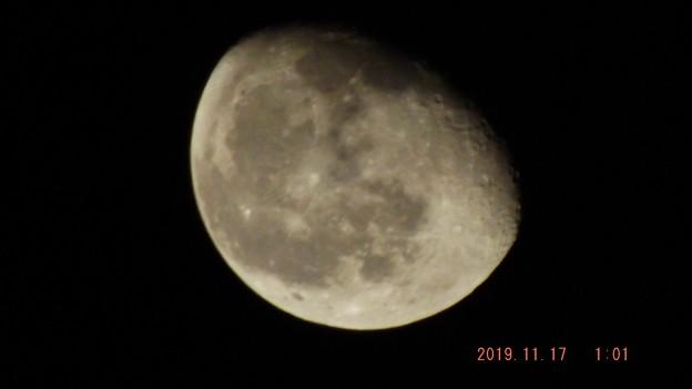 2019/11/17(日)のお月様