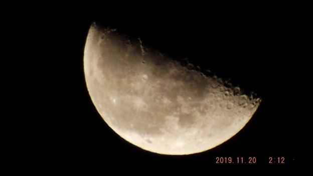 2019/11/20(水)のお月様