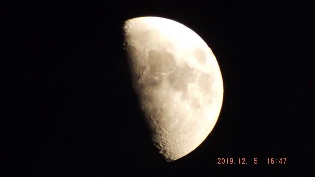 2019/12/05(木)のお月様