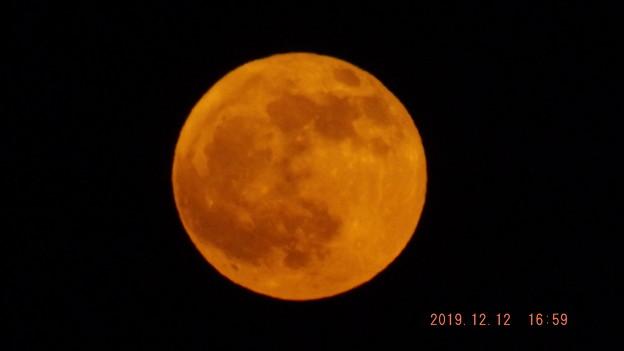 2019/12/12(木)のお月様