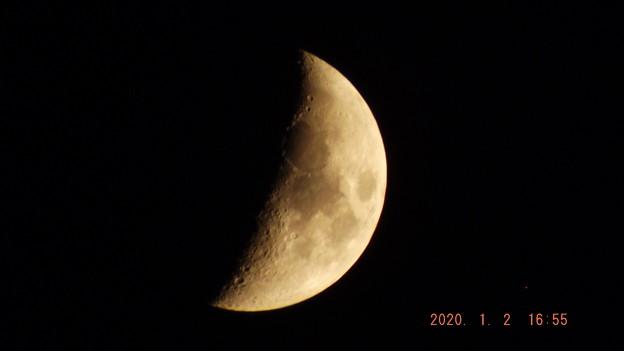 2020/01/02(木)のお月様