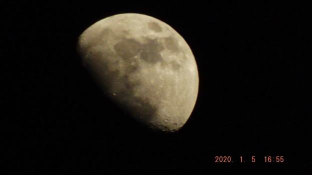 2020/01/05(日)のお月様