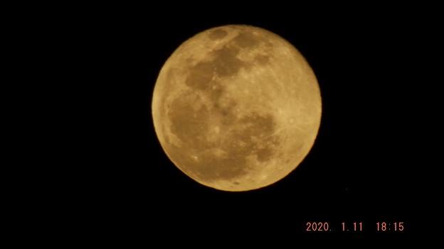2020/01/11(土)のお月様(満月)
