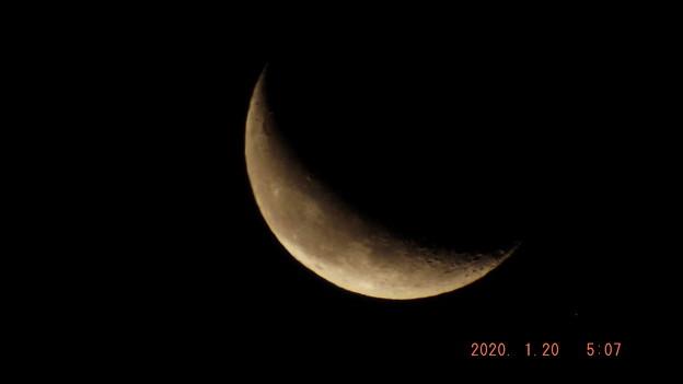 2020/01/20(月)のお月様