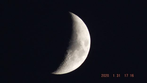 2020/01/31(金)のお月様