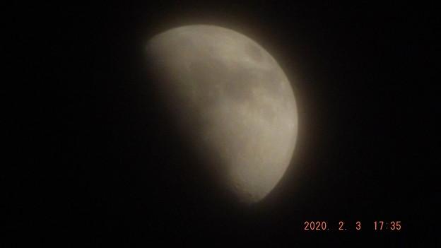 2020/02/03(月)のお月様