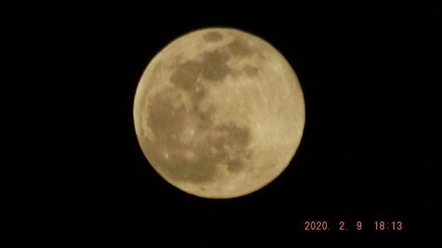 2020/02/09(日)のお月様(満月)