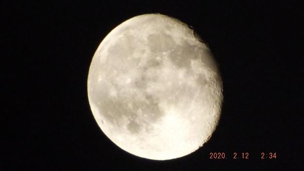 2020/02/12(水)のお月様