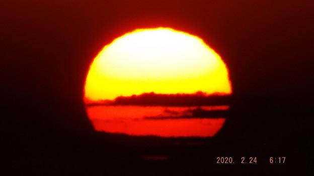 2020/02/24(月・祝)・太東崎灯台から見た日の出