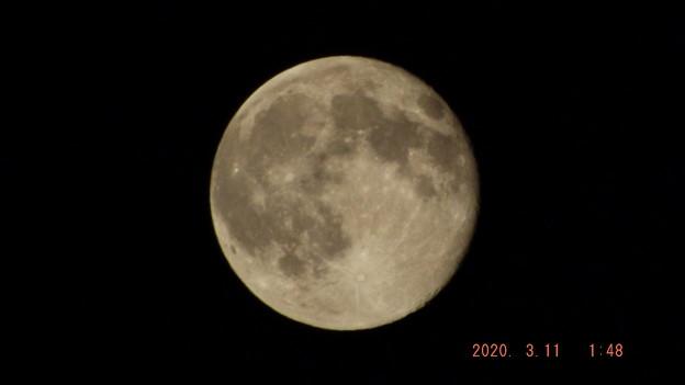 2020/03/11(水)のお月様