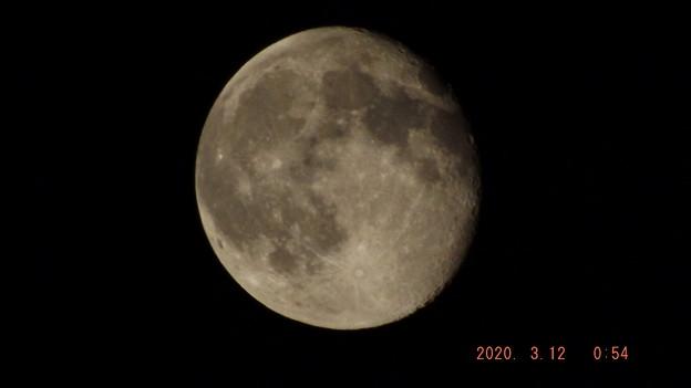 2020/03/12(木)のお月様
