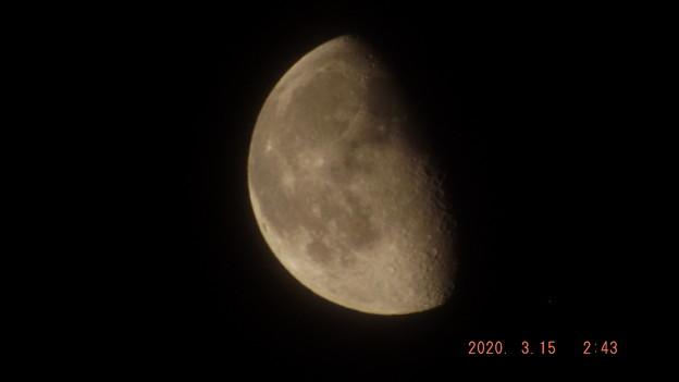 2020/03/15(日)のお月様