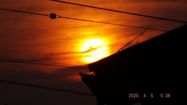 2020/04/05(日)・日の出開始・7