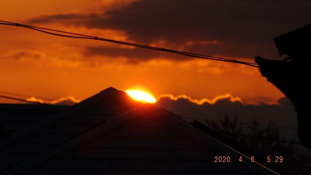 2020/04/06(月)・日の出・1