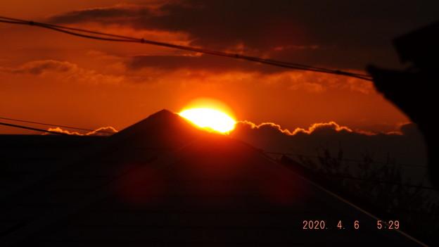 2020/04/06(月)・日の出・2