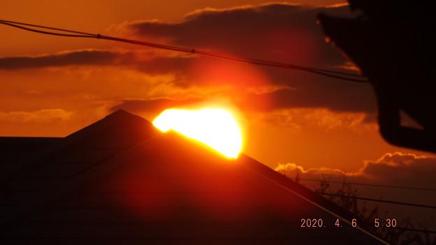 2020/04/06(月)・日の出・6