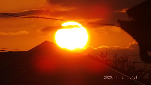 2020/04/06(月)・日の出・7