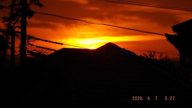 2020/04/07(火)・日の出・1