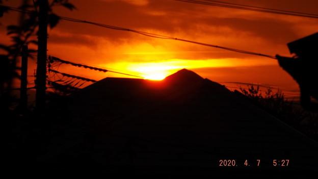 2020/04/07(火)・日の出・2