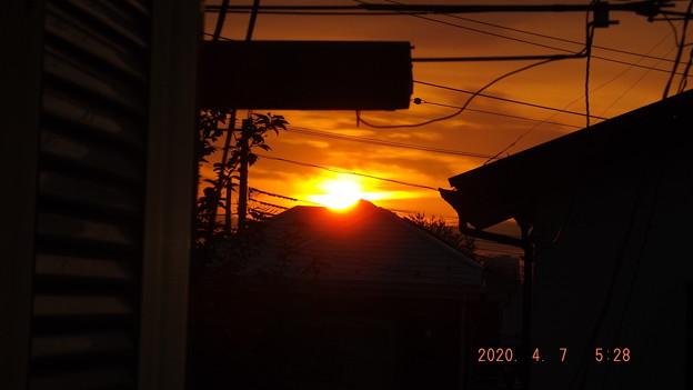 2020/04/07(火)・日の出・5