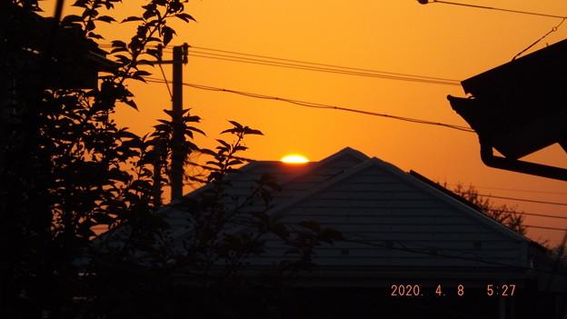 2020/04/08(水)・日の出・1