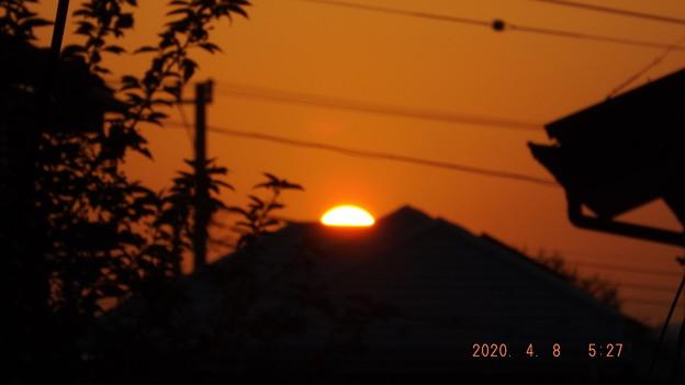 2020/04/08(水)・日の出・2