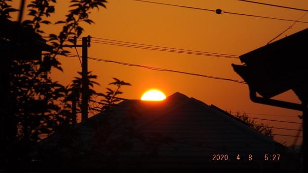 2020/04/08(水)・日の出・4