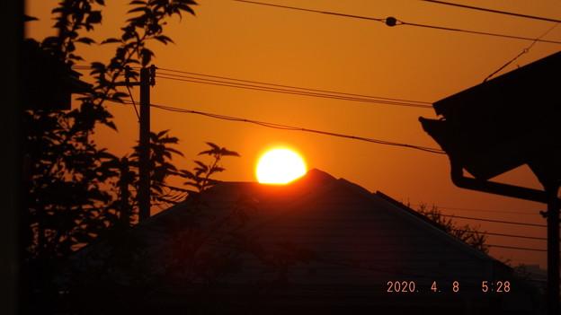 2020/04/08(水)・日の出・6