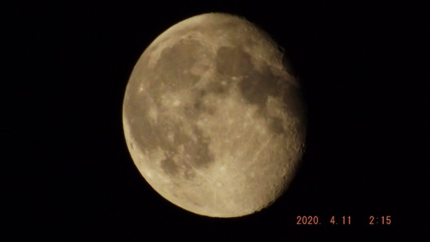 2020/04/11(土)のお月様