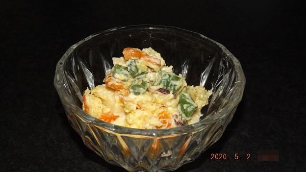 2020/05/02(土)・サツマイモのポテトサラダ