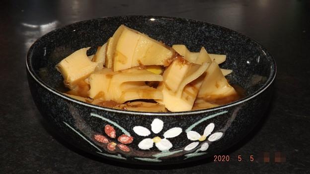 2020/05/05(火・祝)・春爛漫♪筍の土佐煮