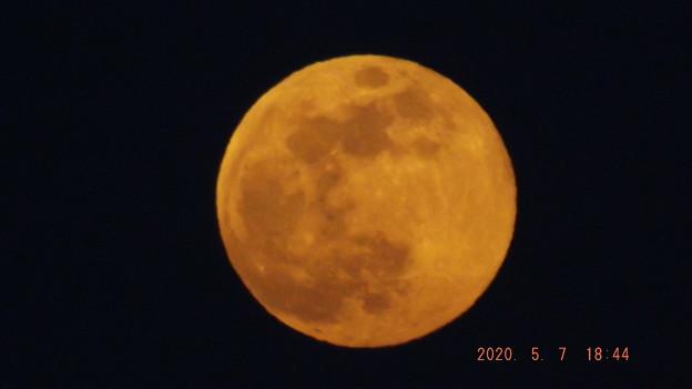 2020/05/07(木)のお月様(満月)