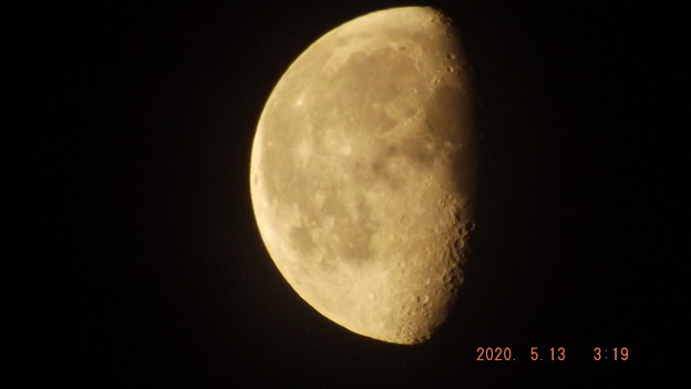 2020/05/13(水)のお月様