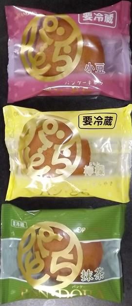 2020/06/05(金)・パンどら(小豆・檸檬・抹茶)