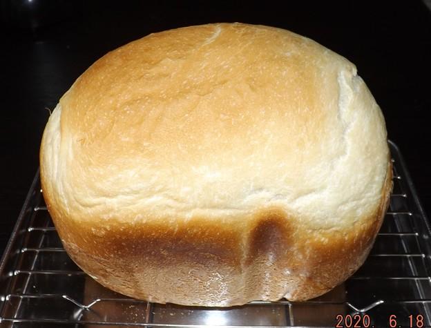 2020/06/18(木)・ホームベーカリーで食パン・早焼きパン