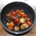2020/08/09(日)・簡単♪ミニトマトの塩昆布和え